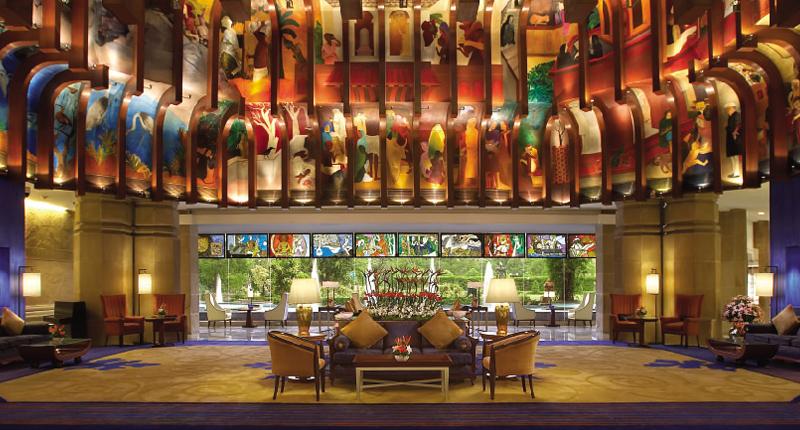 Hotel itc maurya delhi the golden age in hospitality for Decor international delhi
